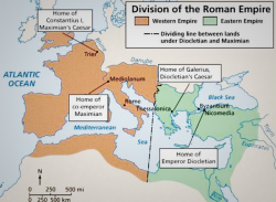 Fall of Rome - East and West Division
